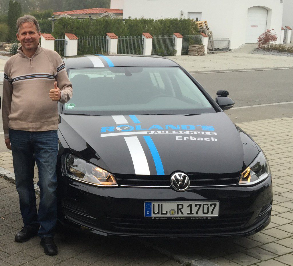 Fahrlehrer Peter Ullenberger